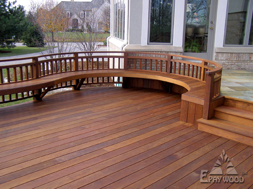 Epay wood the best decking material for Best timber for decking